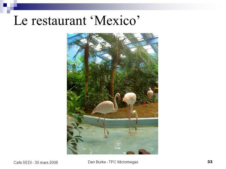 Le restaurant 'Mexico'