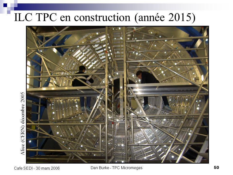 ILC TPC en construction (année 2015)