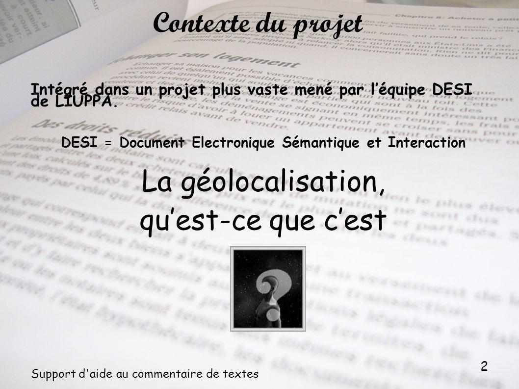 DESI = Document Electronique Sémantique et Interaction