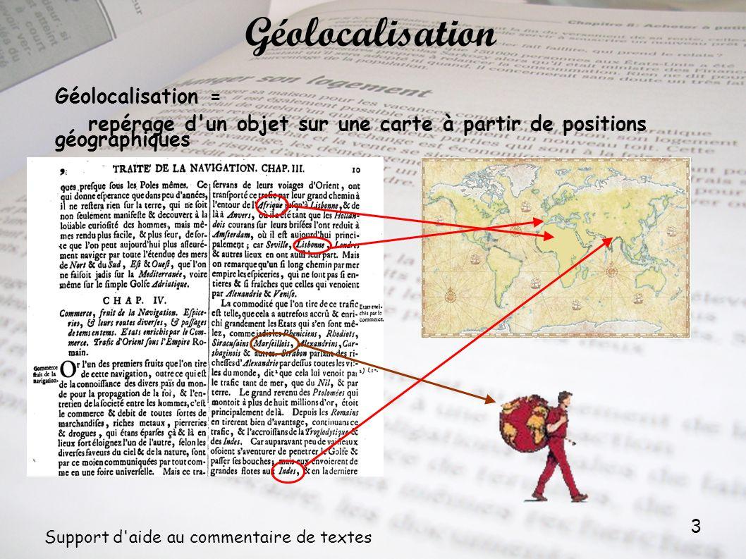 Géolocalisation Géolocalisation =