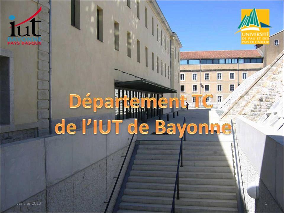 Département TC de l'IUT de Bayonne
