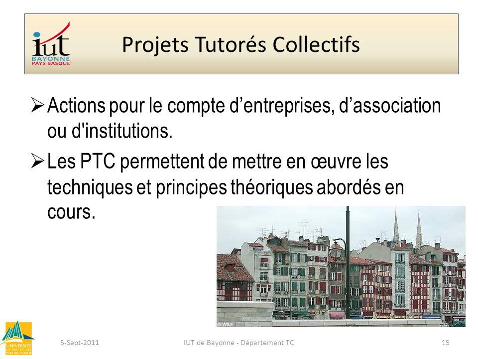 Projets Tutorés Collectifs