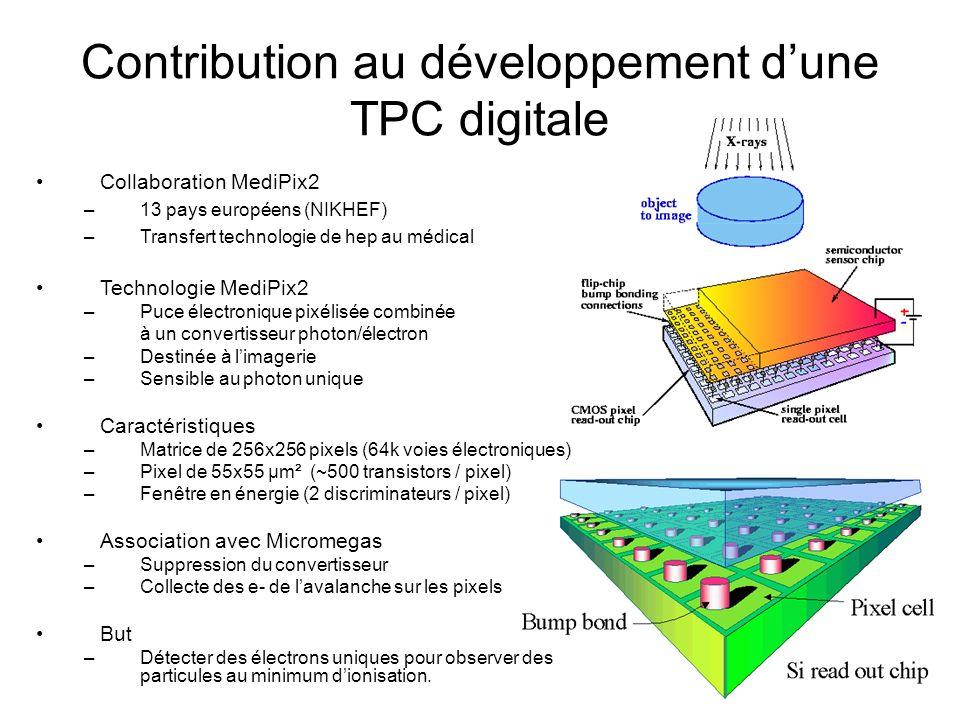 Contribution au développement d'une TPC digitale