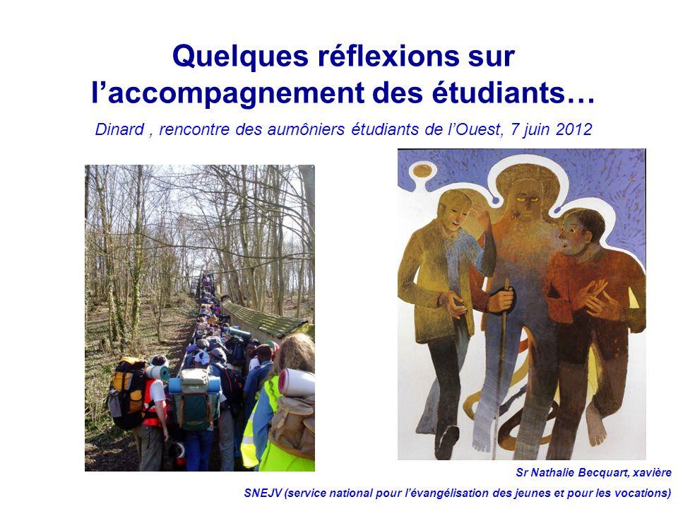 Quelques réflexions sur l'accompagnement des étudiants…