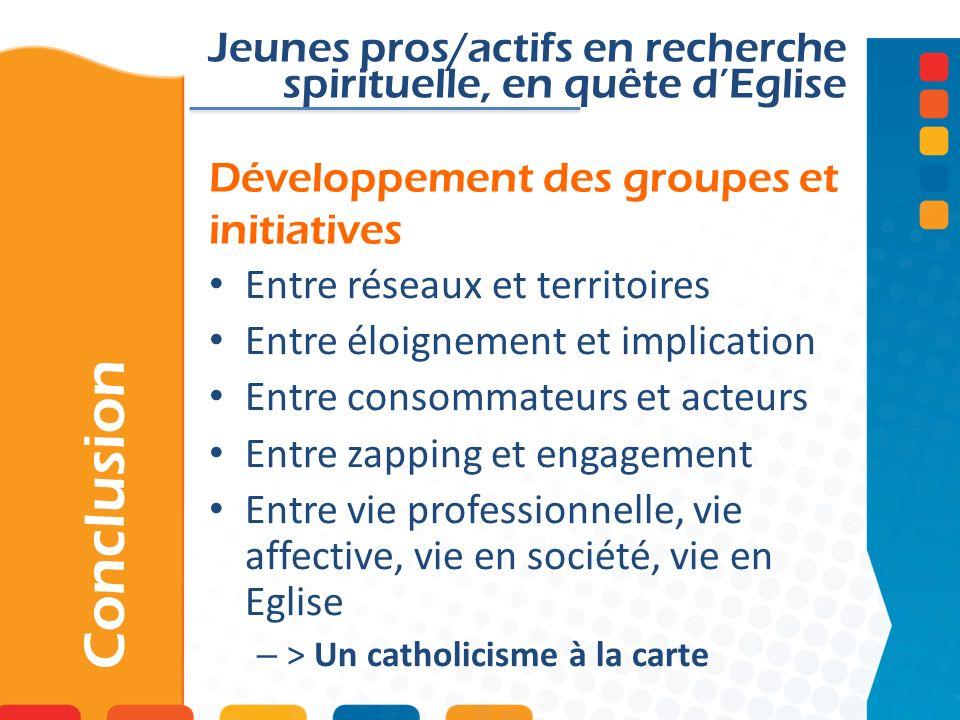 Développement des groupes et initiatives