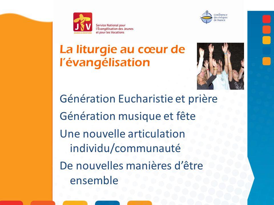 La liturgie au cœur de l'évangélisation