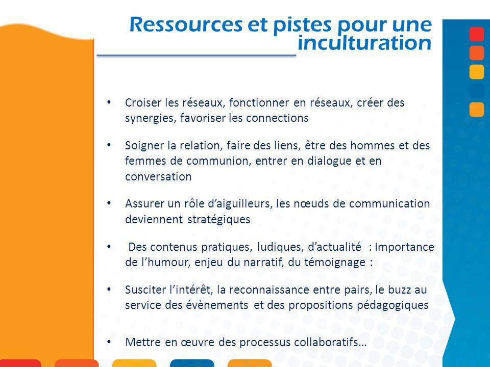 Ressources et pistes pour une inculturation