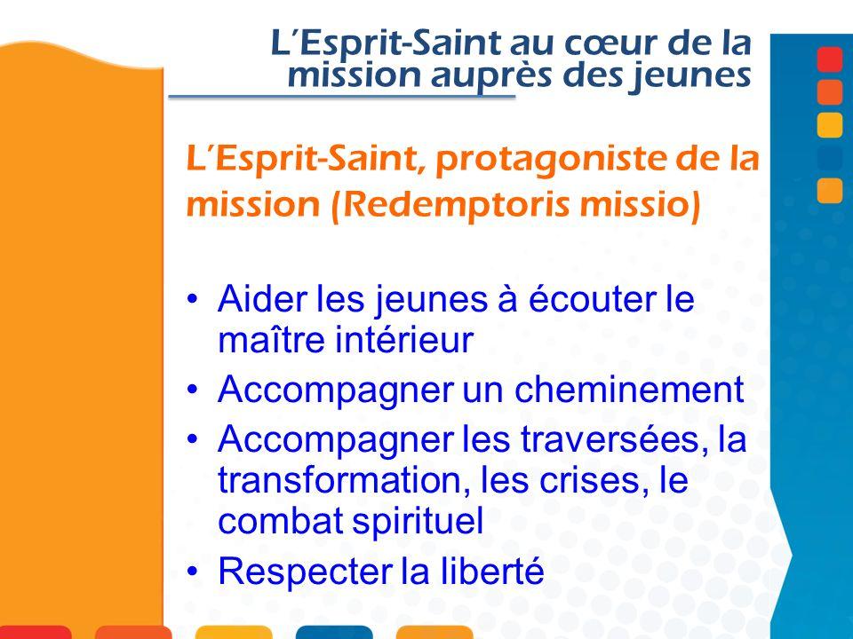 L'Esprit-Saint, protagoniste de la mission (Redemptoris missio)