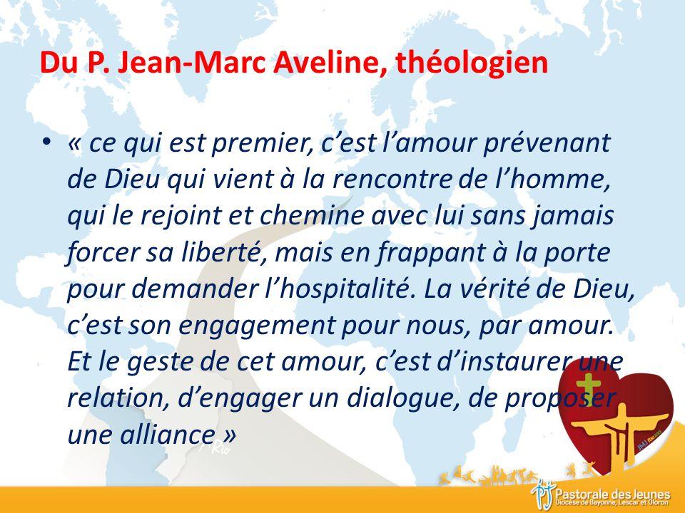 Du P. Jean-Marc Aveline, théologien