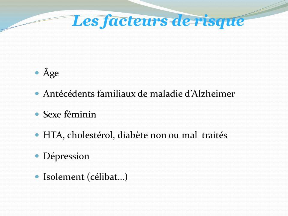 Les facteurs de risque Âge