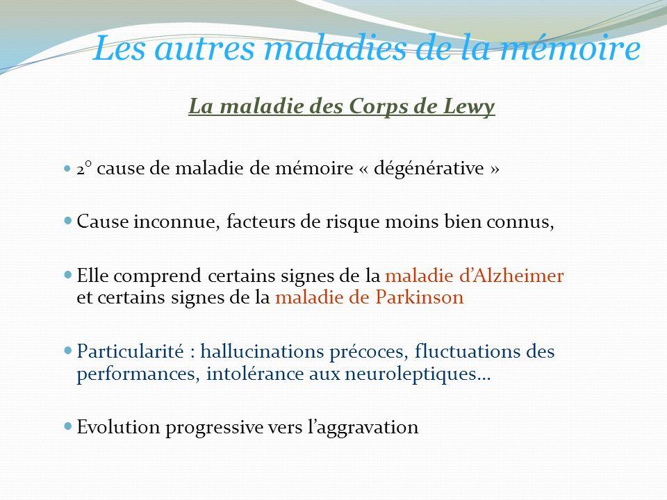 La maladie des Corps de Lewy
