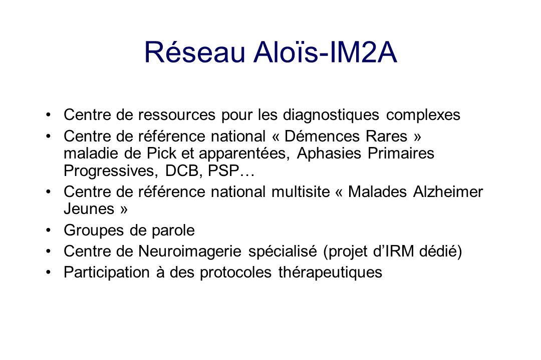 Réseau Aloïs-IM2A Centre de ressources pour les diagnostiques complexes.
