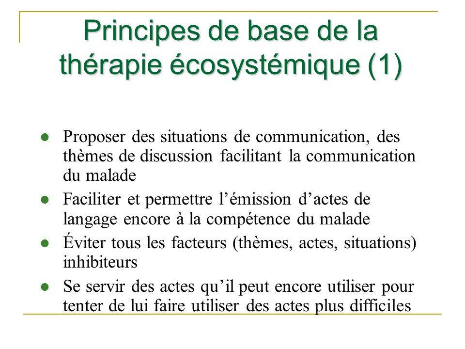 Principes de base de la thérapie écosystémique (1)