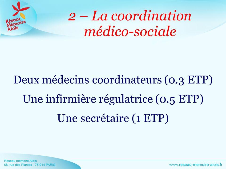 2 – La coordination médico-sociale