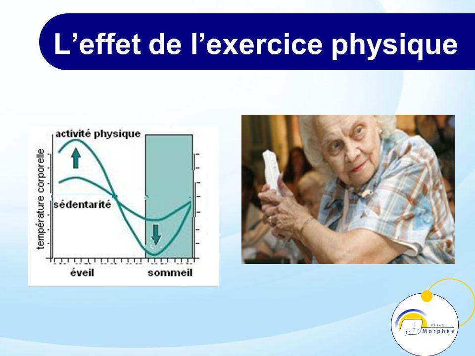 L'effet de l'exercice physique