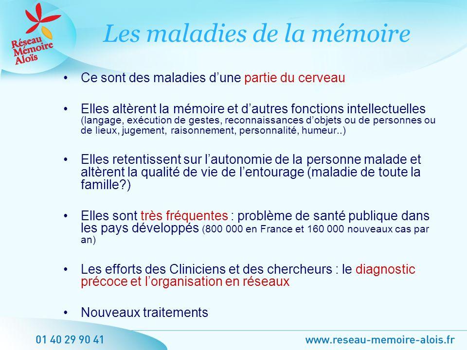 Les maladies de la mémoire
