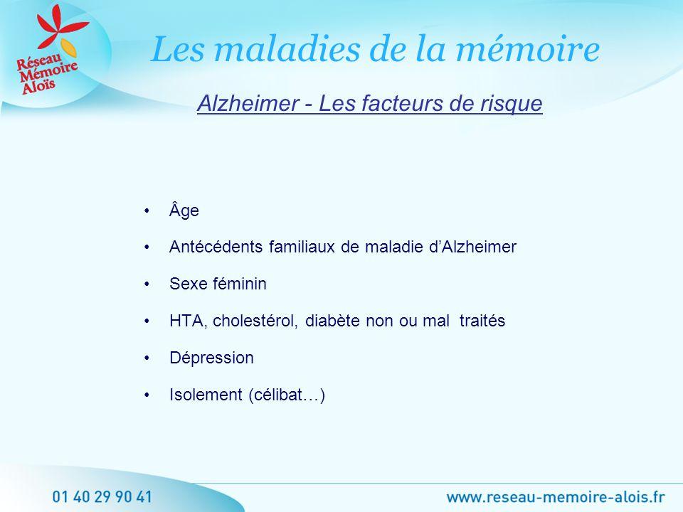 Alzheimer - Les facteurs de risque