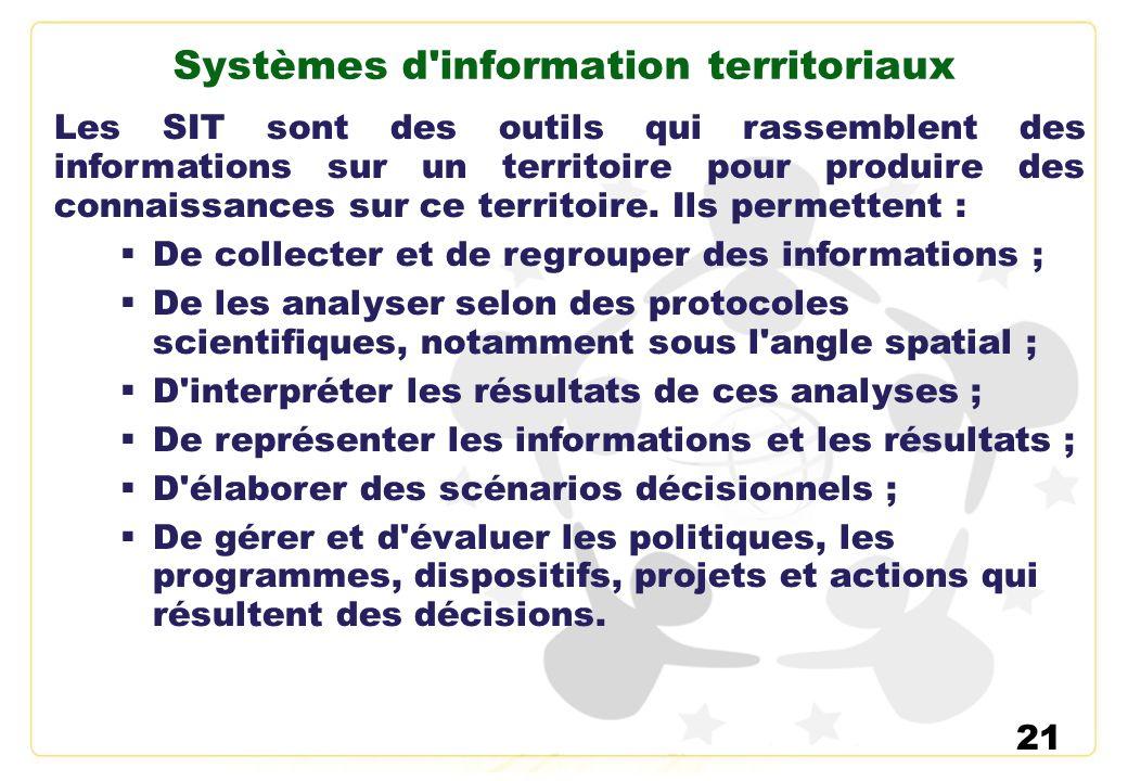Systèmes d information territoriaux