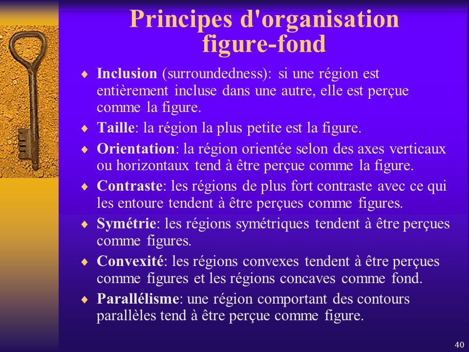 Principes d organisation figure-fond