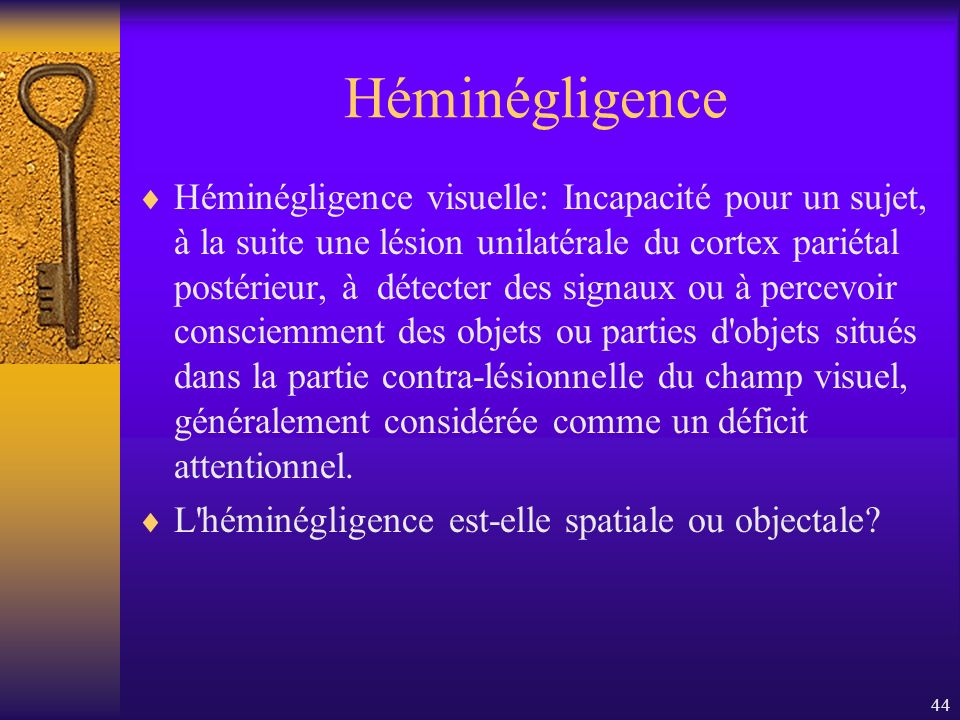Héminégligence