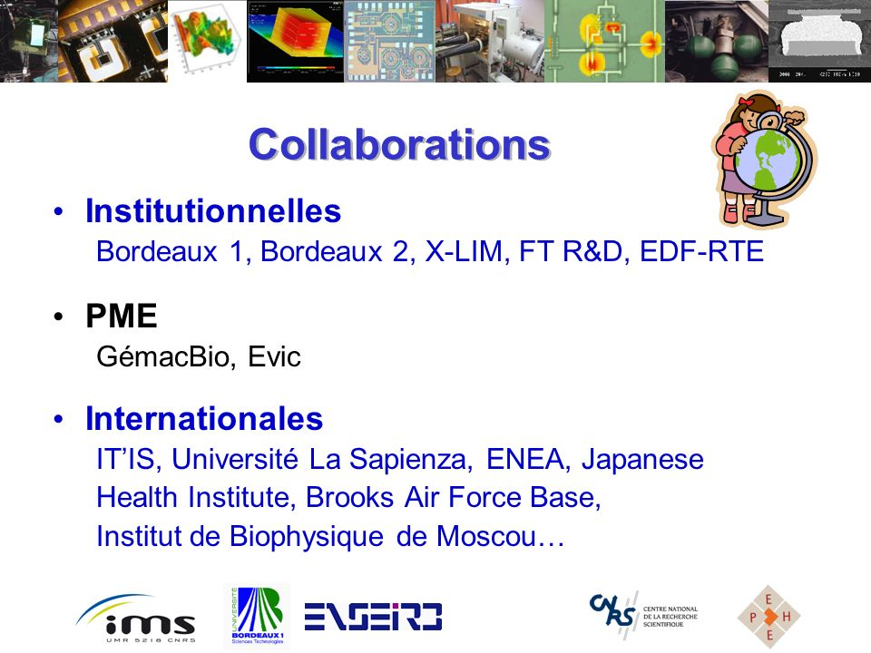 Collaborations Institutionnelles PME Internationales