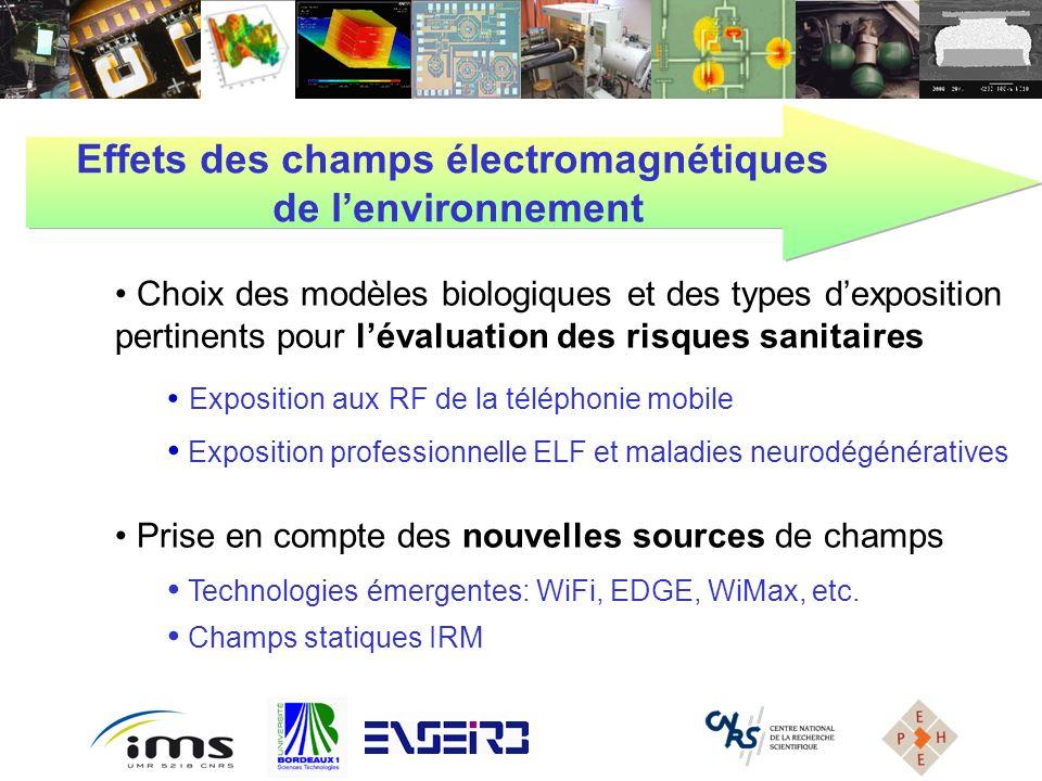 Effets des champs électromagnétiques
