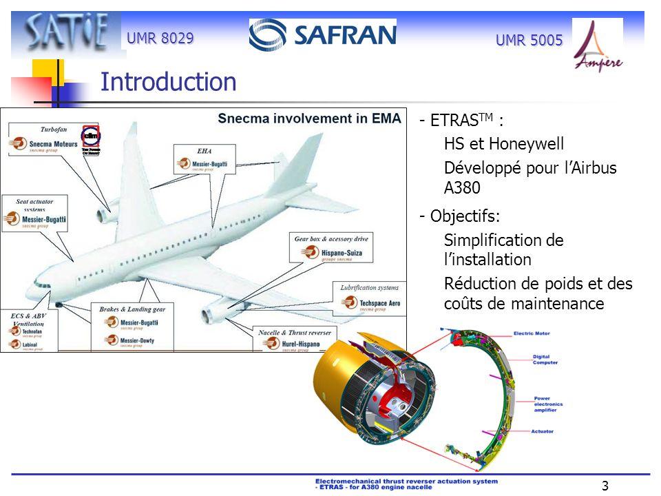 Introduction - ETRASTM : HS et Honeywell Développé pour l'Airbus A380