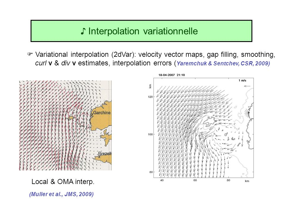 ♪ Interpolation variationnelle