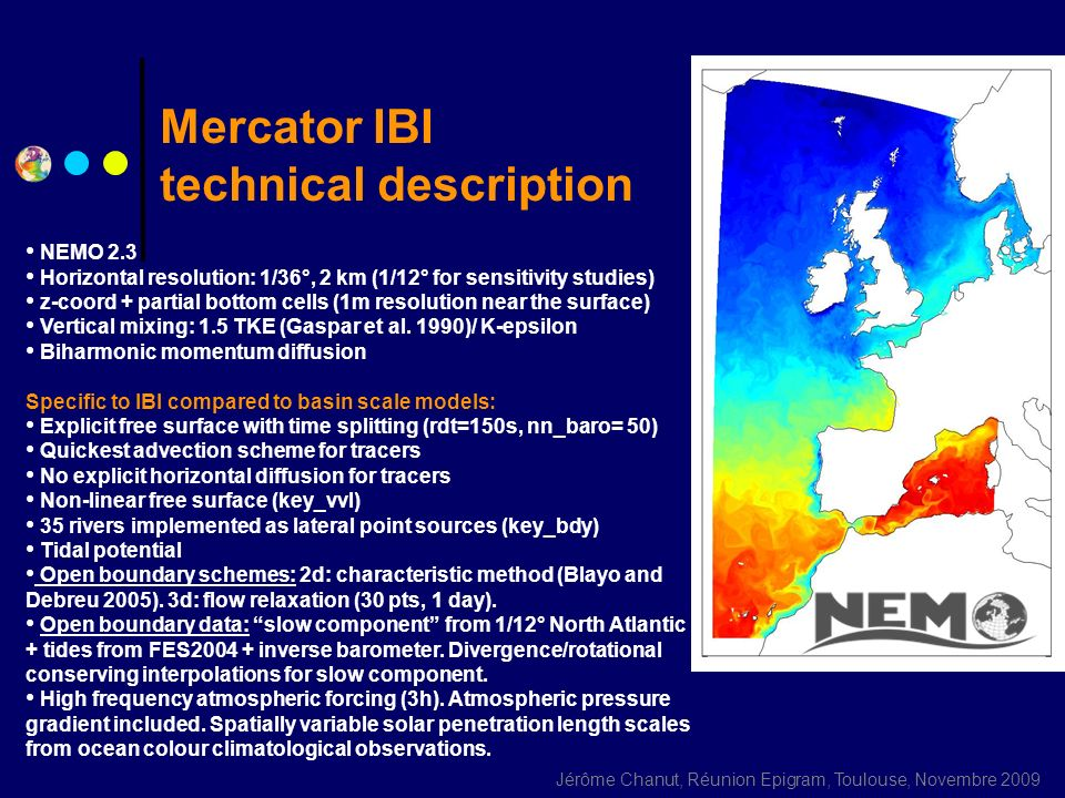 Mercator IBI technical description