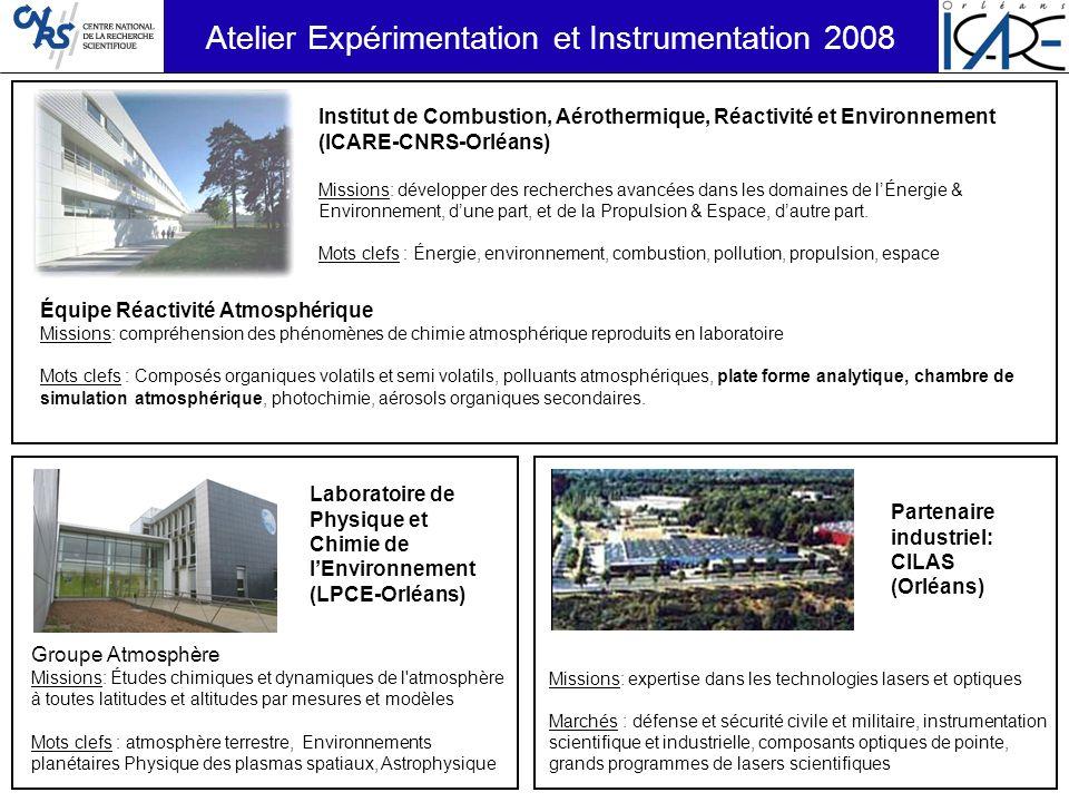 Atelier Expérimentation et Instrumentation 2008