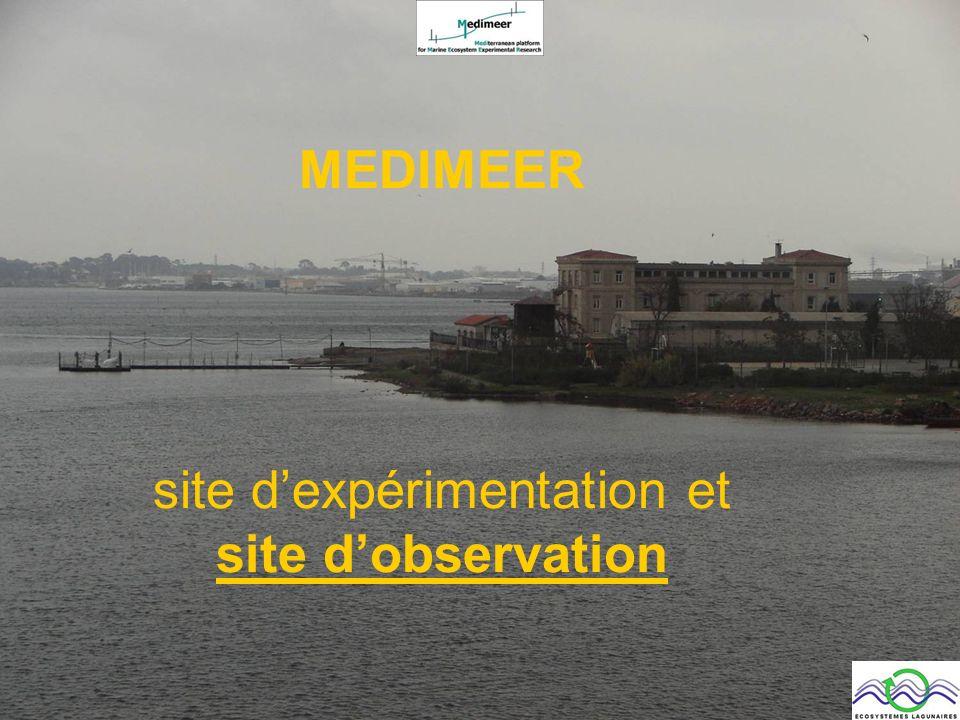 MEDIMEER site d'expérimentation et site d'observation