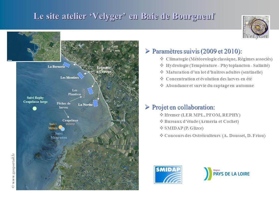 Le site atelier 'Velyger' en Baie de Bourgneuf
