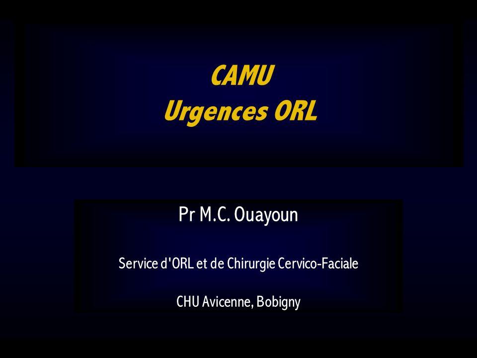 Service d ORL et de Chirurgie Cervico-Faciale CHU Avicenne, Bobigny