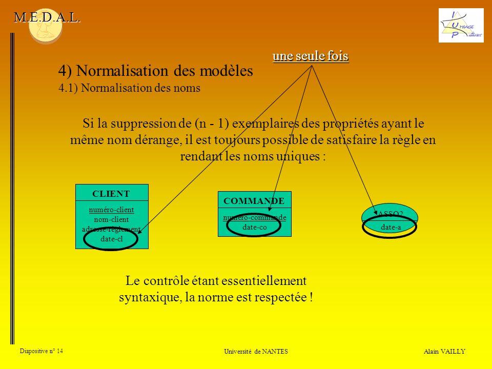 Le contrôle étant essentiellement syntaxique, la norme est respectée !