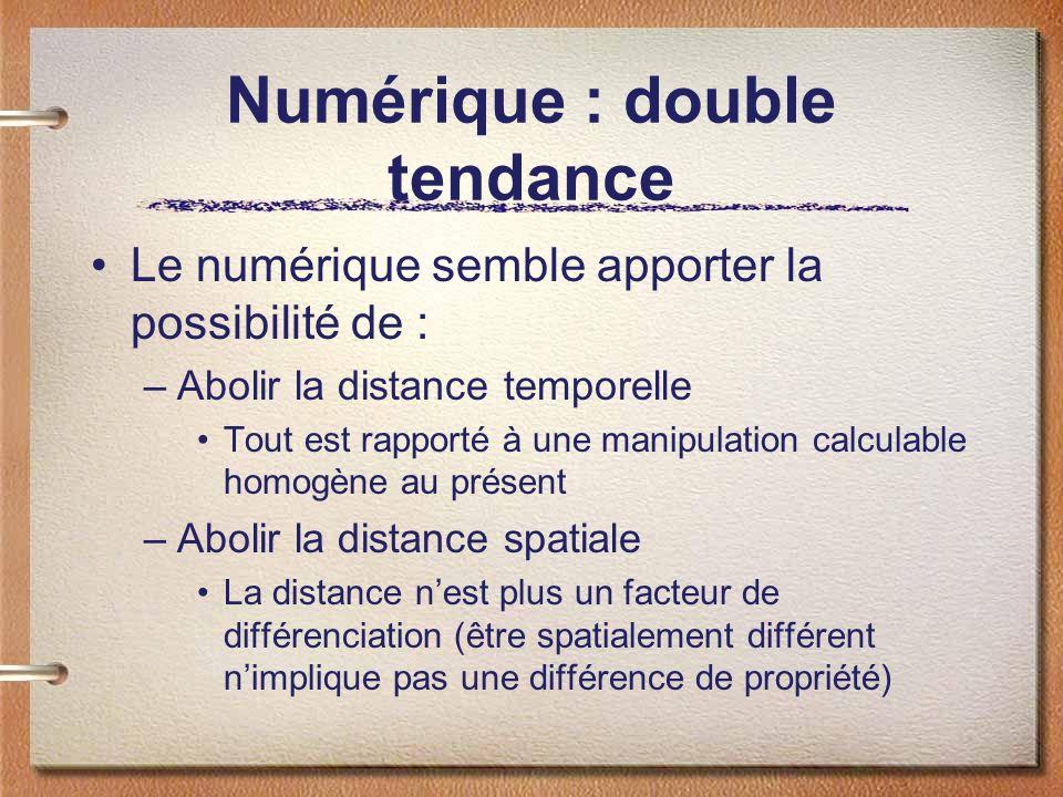 Numérique : double tendance