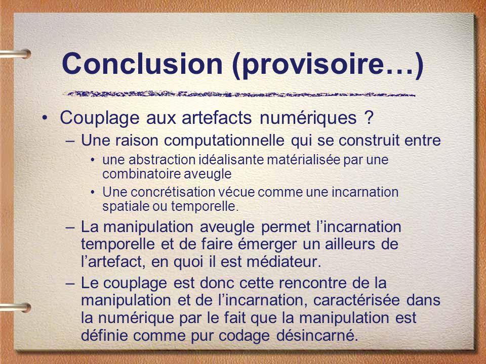 Conclusion (provisoire…)