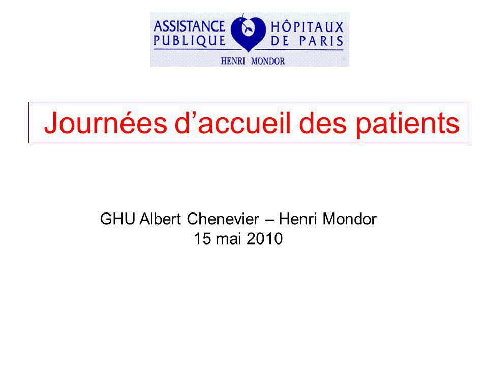Journées d'accueil des patients