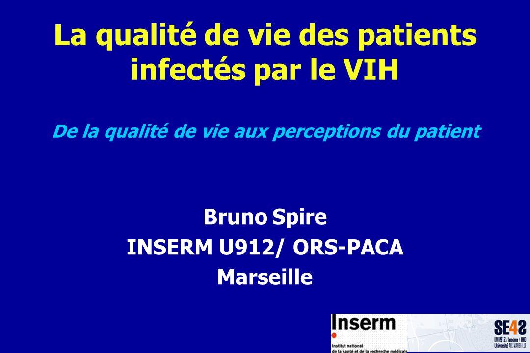 Bruno Spire INSERM U912/ ORS-PACA Marseille