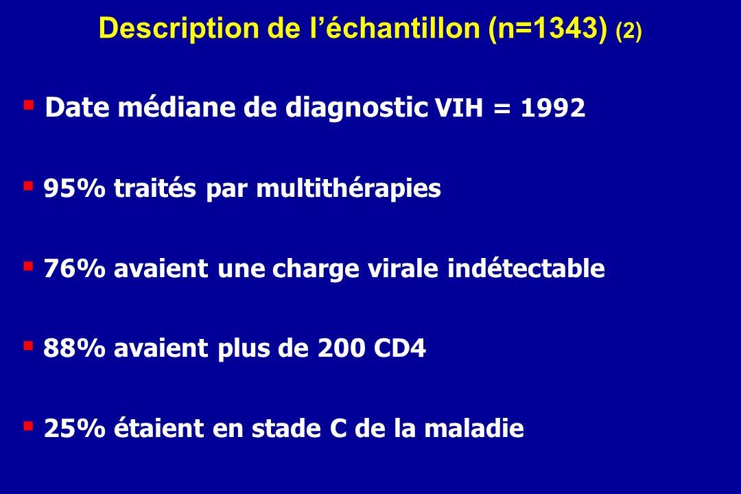 Description de l'échantillon (n=1343) (2)