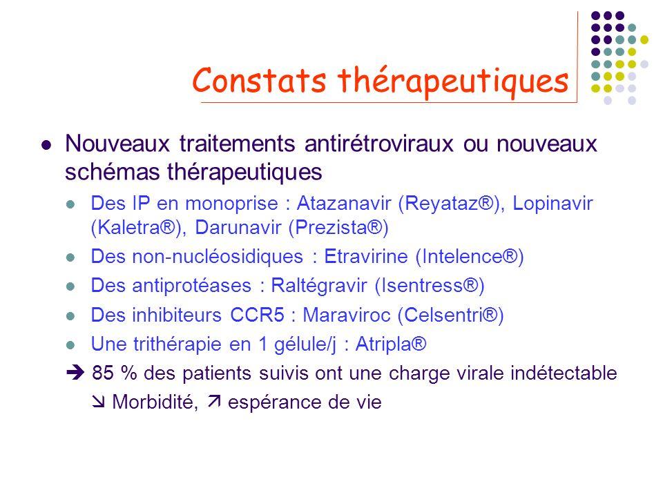 Constats thérapeutiques