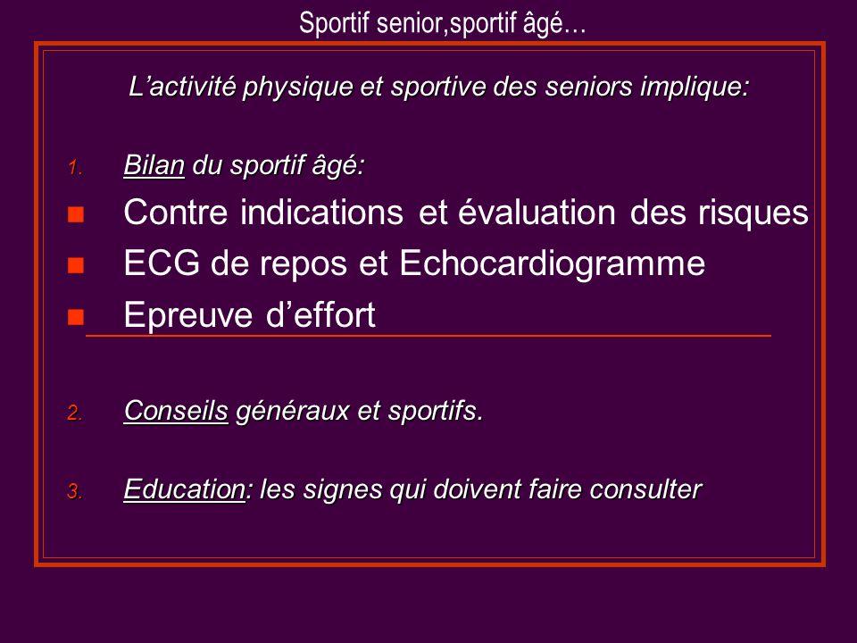 Sportif senior,sportif âgé…