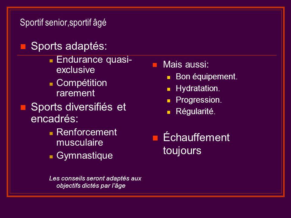 Sportif senior,sportif âgé