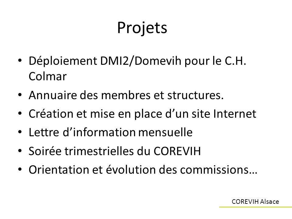 Projets Déploiement DMI2/Domevih pour le C.H. Colmar