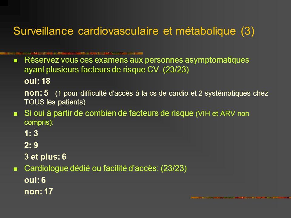 Surveillance cardiovasculaire et métabolique (3)