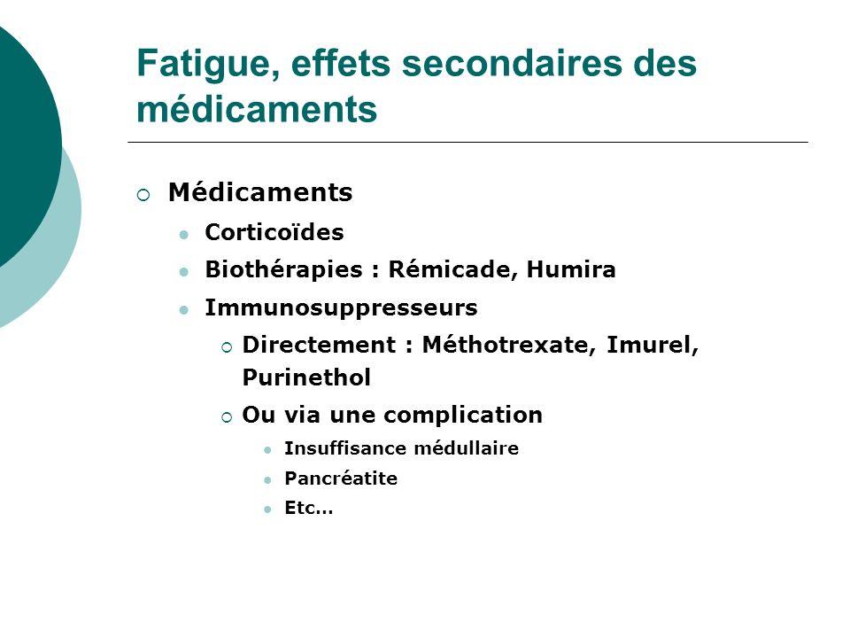 amoxicilline effets secondaires fatigue