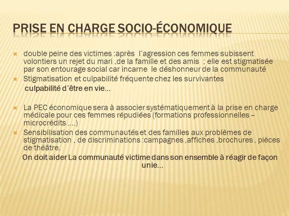 Prise en charge socio-économique