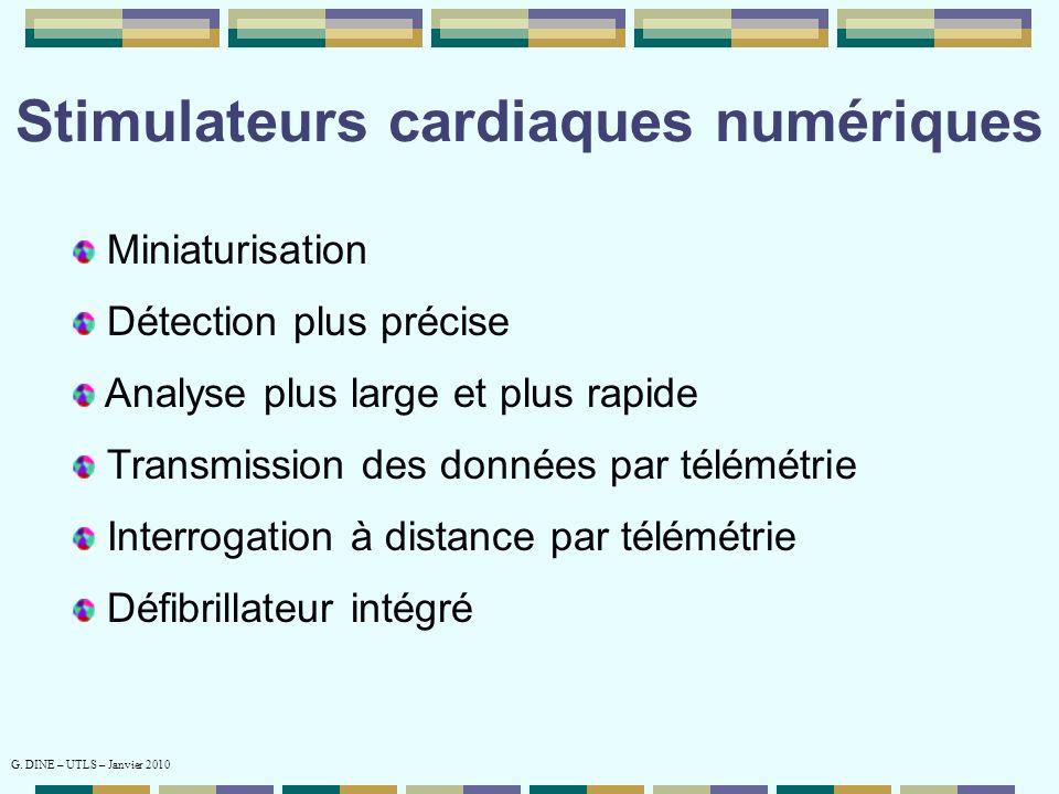 Stimulateurs cardiaques numériques
