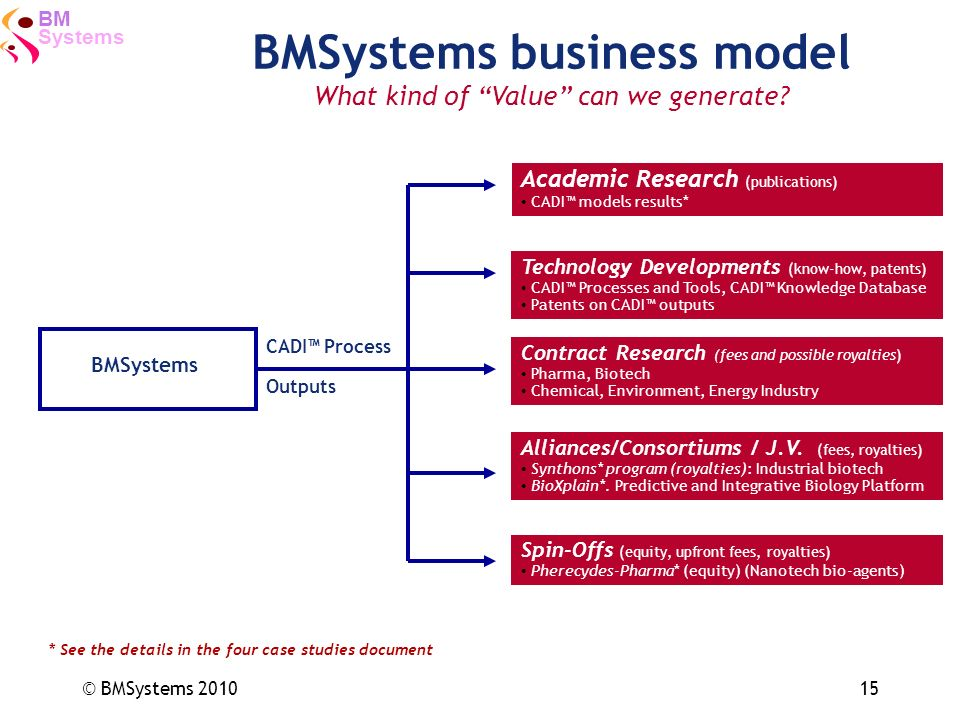 BMSystems business model
