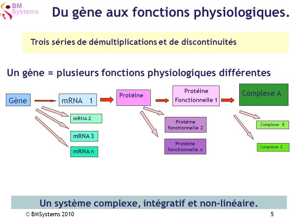 Un système complexe, intégratif et non-linéaire.