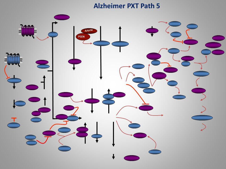 Alzheimer PXT Path 5 APPSW PSEN D5 DRD2 PITPNC1 EDGs PDEs SGPP2 PLA2
